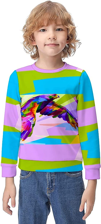 LIDOTO < Teenage Boys and Girls Sweatshirt Pullover Casual Sport