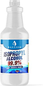 Isopropyl Alcohol 99.9% Purity (IPA) - Made in The USA - Pure Rubbing Alcohol