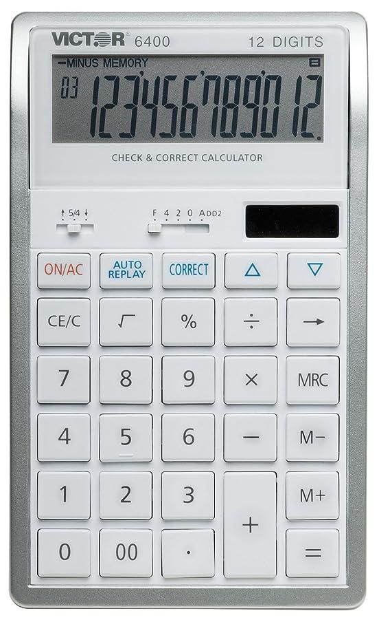 仮定、想定。推測説得力のある競うvct6400?–?Victor 6400デスクトップ電卓