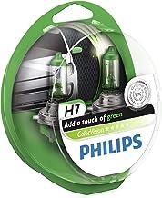 Philips ColorVision Bombilla para faros delanteros verde 12972CVPGS2 - bombilla para coches (55W, H4/H7, High beam, Luz interior, Low beam, Parking light, Signaling, Stop light)