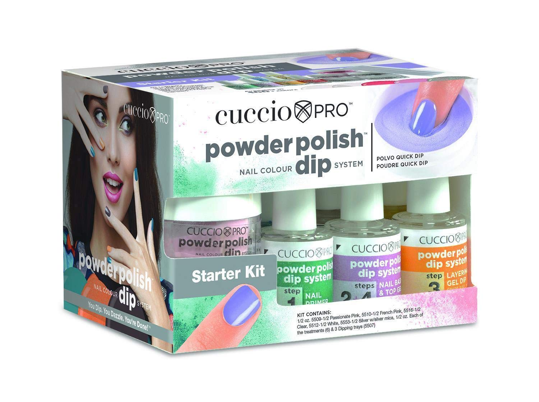 Fixed price Popular for sale Cuccio Pro Powder Polish Dip Starter Kit Dipping