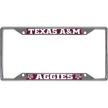 WinCraft NCAA Texas A/&M University Metal License Plate Frame