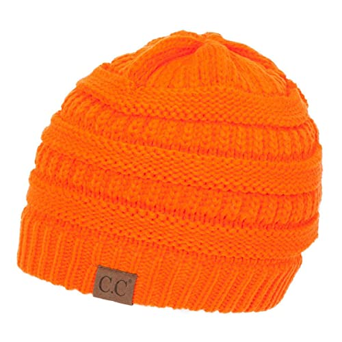 ca5f5a44f29 Gravity Threads Knit Soft Stretch Beanie Cap