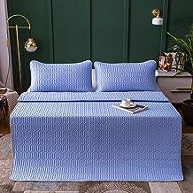 Summer sleeping mats, sheets, cool feeling silk latex mats, three-piece printing, summer air conditioning, foldable and wa...