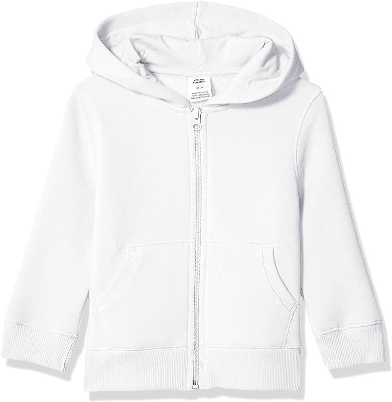 Amazon Essentials Boy S Fleece Zip Up Hoodie