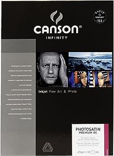 Canson Infinity PhotoSatin Premium RC 270 g/m2 - Papel fotográfico caja 25 hojas A3-297 x 42 cm