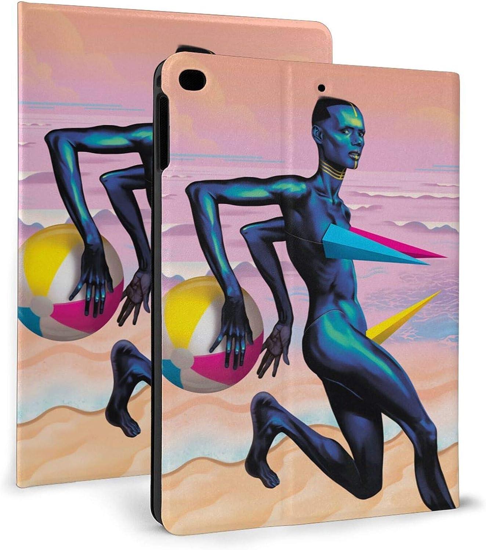YuHuauhuh Rapid rise Grace Jones Ipad 7th Protective ipad inch Sleeve Beauty products 10.2
