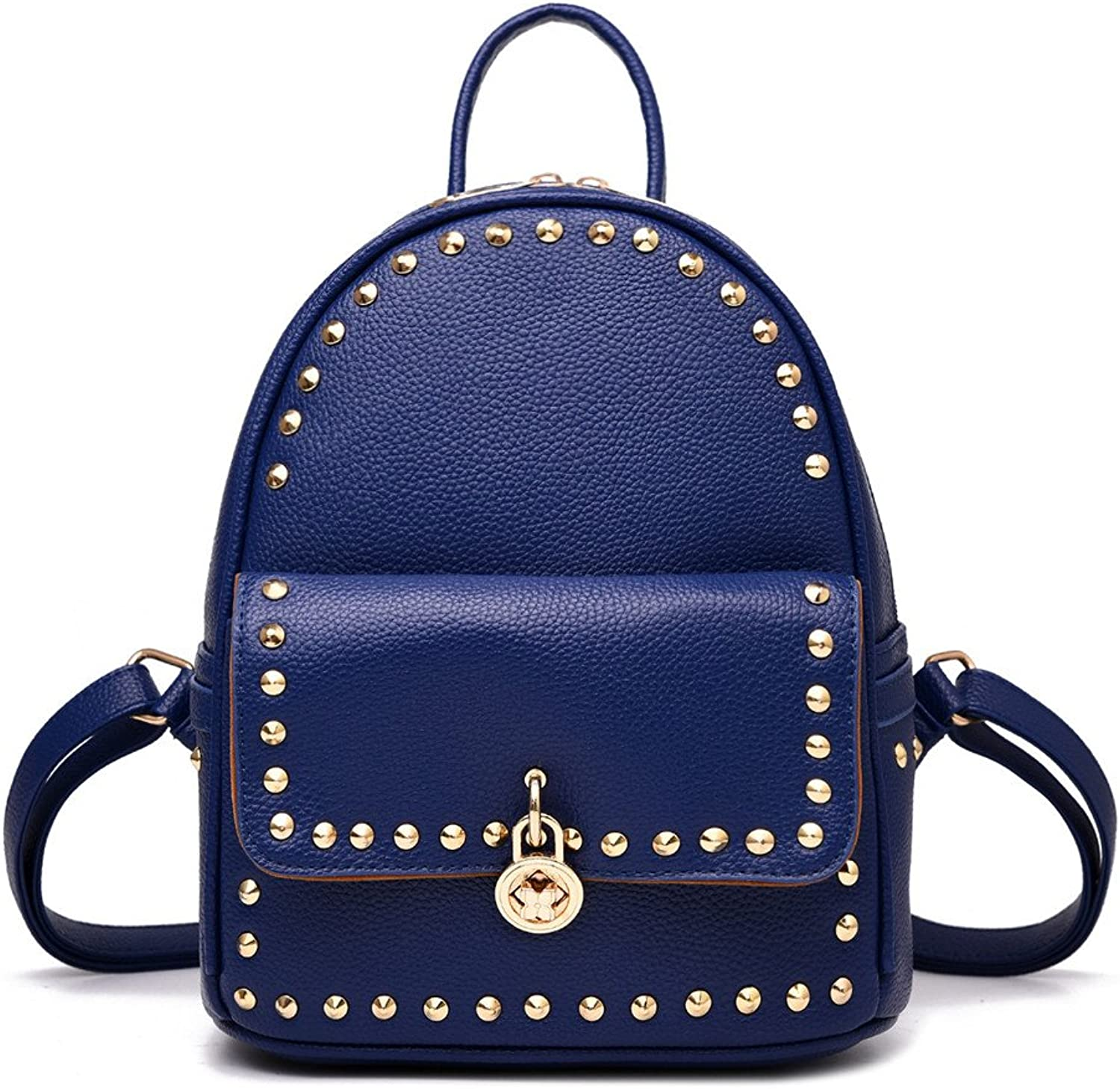 Ms. shoulders package preppy STUDENT BACKPACK leisure pu. Ms. backpack,A sect. F