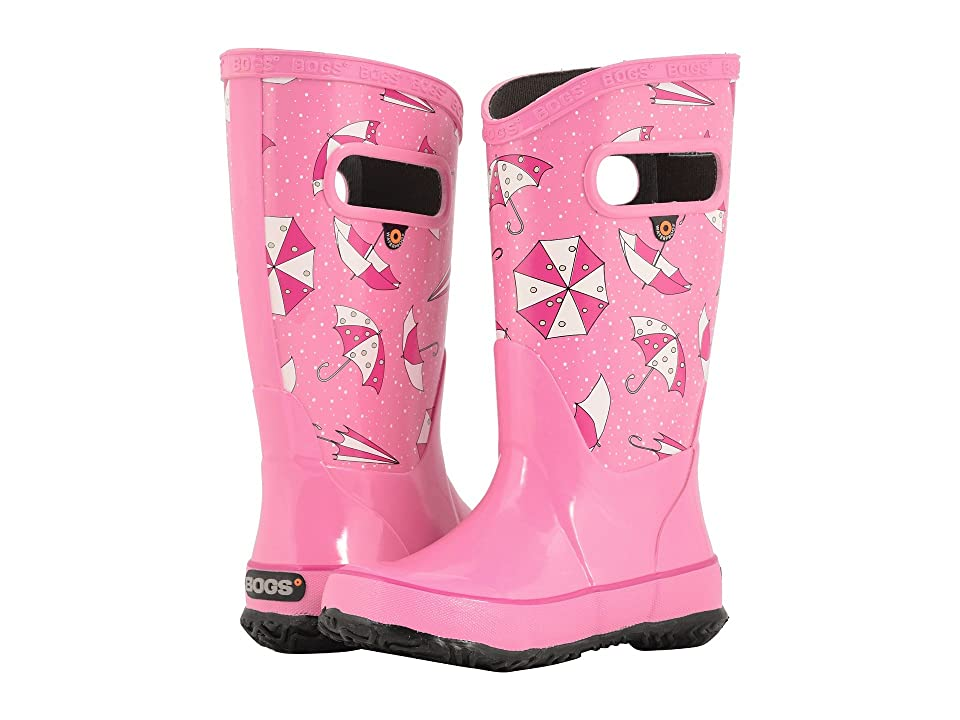 Bogs Kids Rain Boot Umbrellas (Toddler/Little Kid/Big Kid) (Pink Multi) Girls Shoes