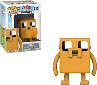 Funko Pop Television: Adventure Time - Minecraft Jake Collectible Figure, Multicolor