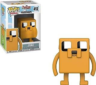 Funko Pop Television: Adventure Time - Minecraft Jake Collectible Figure, Multicolor