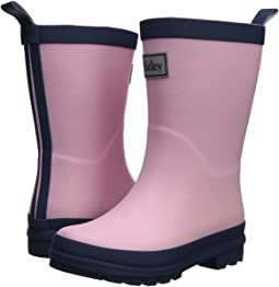 Pink and Navy Rain Boots (Toddler/Little Kid)