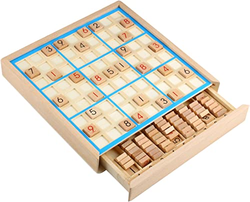 high quality PP-NEST new arrival Wooden Sudoku Board Games wholesale Number Puzzle SD-02 outlet sale