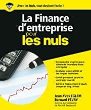 Livres La Finance d'entreprise pour les Nuls (Hors collection) PDF