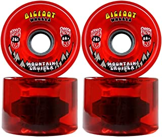 Bigfoot Longboard Wheels 76mm 80A SHR Mountain Cruisers