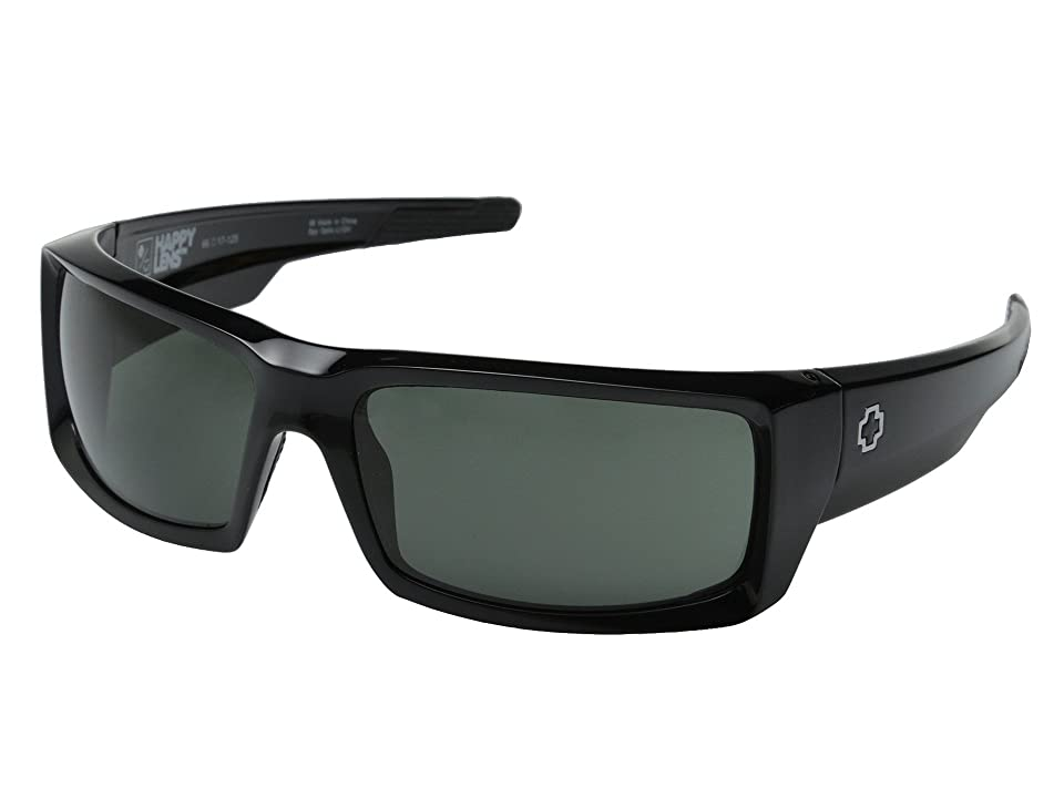 Spy Optic General (Black/Happy Gray Green) Sport Sunglasses