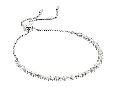 Swarovski Subtle Bracelet (White/Rhodium Plating) Bracelet
