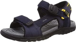 Geox Uomo Strada B 男式露趾凉鞋