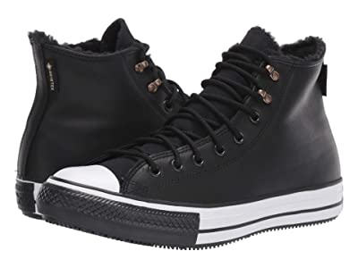 Converse Chuck Taylor All Star Winter Hi (Black/Black/White) Shoes