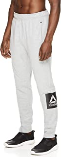 Men's Jogger Running Pants with Pockets - Athletic Workout Sweatpants