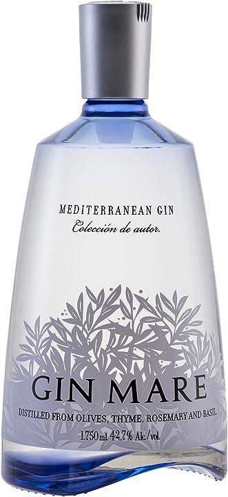 Mediterranean gin - gin mare,75 gin - 1750 ml AZCK024