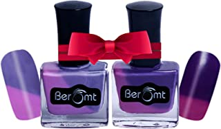 Beromt Temperature Change Nail Polish Combo set of 2