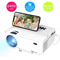 TOPVISION 2400Lux LED Portable Projector
