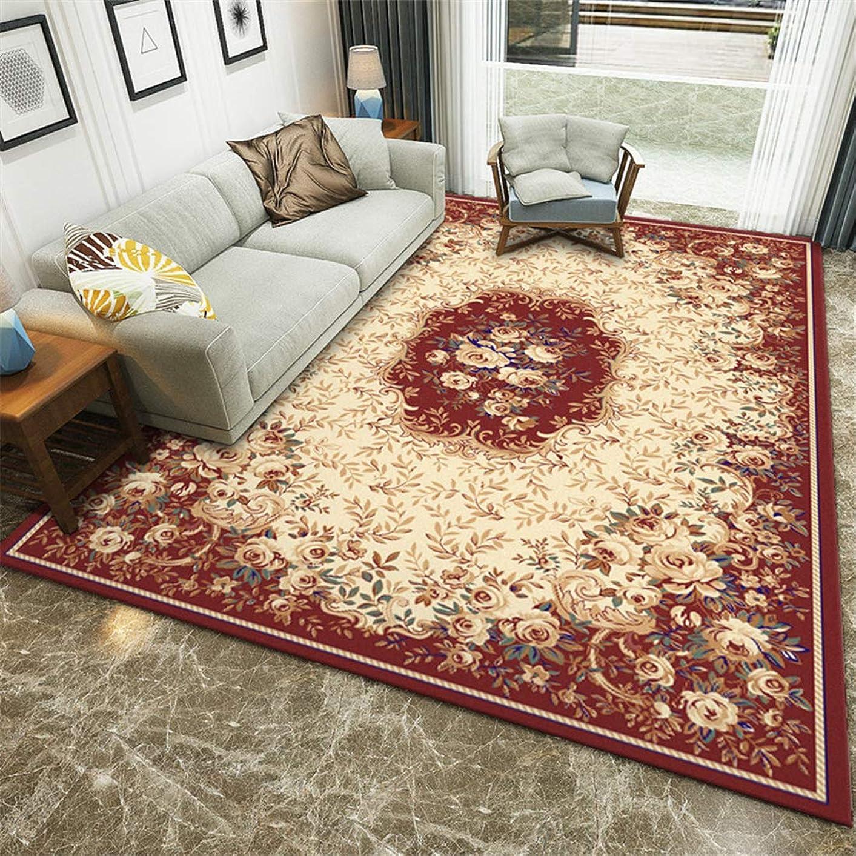 無効年十二カーペット オールシーズン 絨毯 ブランド洗える マット 80x120cm 新しいヨーロッパスタイルのモダンなミニマリストのリビングルームのカーペットの家の印刷の正方形の床のマットの処理ポリエステル家庭用002