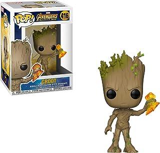 Pop! Avengers Infinity War - Figura de Vinilo Groot with Stormbreaker
