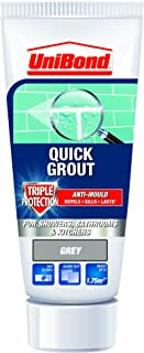 UniBond Triple Protect Anti-Mould Wall Tile Grout Tube - Grey
