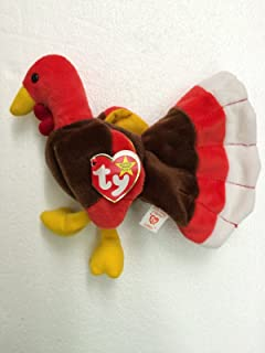 Ty Beanie Baby Gobbles the Turkey Plush