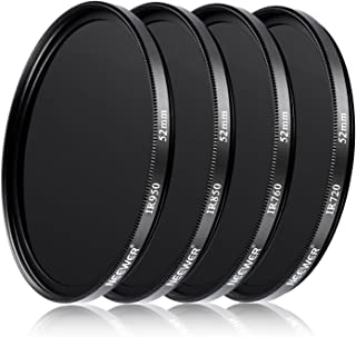Massa 52mm IR Infrared Filter for Olympus M.Zuiko Digital ED 9-18mm F4.0-5.6