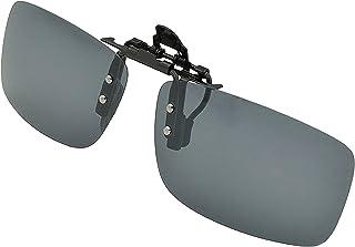 サングラス,RedCloud クリップオン UV400サングラス 前掛け偏光レンズ メガネにつける