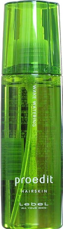 遠洋の露出度の高い蓋Lebel ルベル プロエディット ヘアスキン ウェイク ウォータリング 120ml 【WAKE WATERING】
