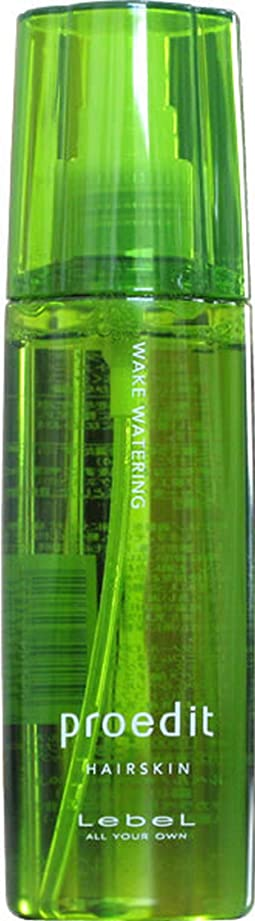 扱いやすいどこレビューLebel ルベル プロエディット ヘアスキン ウェイク ウォータリング 120ml 【WAKE WATERING】