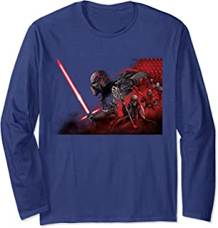 Star Wars Rise of Skywalker Kylo Knights of Ren Manche Longue