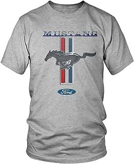 Amdesco Men's Ford Mustang Logo, Officially Licensed Ford Design T-Shirt