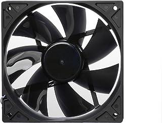 Noiseblocker BlackSilentPro - Ventilador de PC (Ventilador, Carcasa del ordenador, 12 cm, Negro, 12V, 100 cfm)