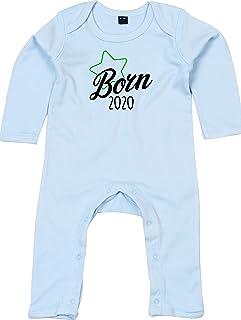 Kleckerliese Baby Strampler Schlafanzug Overall Sprüche Jungen Mädchen Motiv Born 2020