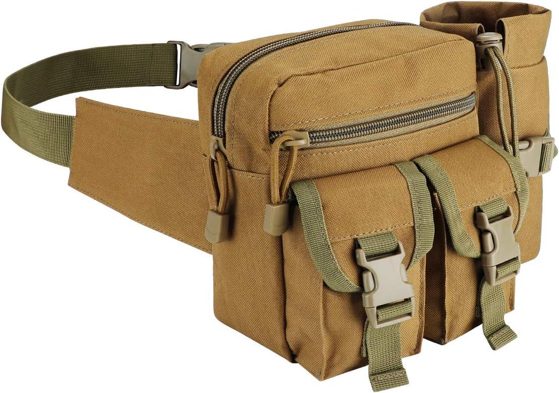 Selling Lemon Park Tactical Waist Bag Ranking TOP11 Fanny Uti Pack Waterproof Military