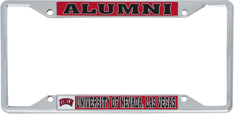 University of Nevada Las Max 67% OFF Vegas UNLV F Rebels Gorgeous License Metal Plate