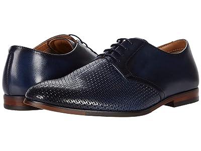 Steve Madden Elixer Oxford (Navy Leather) Men