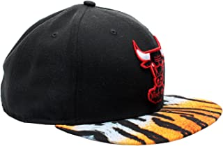 Chicago Bulls New Era Tiger Visor Fitted Hat