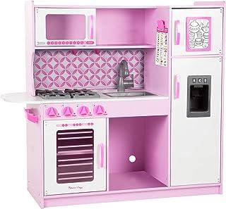 Melissa & Doug- Cupcake Chef's Kitchen - Pink, Color Rosa, Blanco (14002)