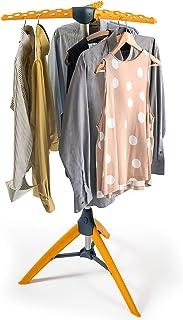 Tatkraft Palm Robust vikbar klädluftare för vertikal veckreducerande lufttorkning (spara tid vid strykning), Hangaway kläd...