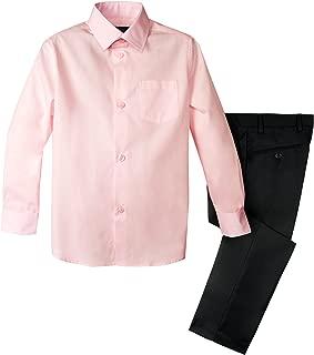 Spring Notion Boys 2-Piece Dress Pants and Shirt Set