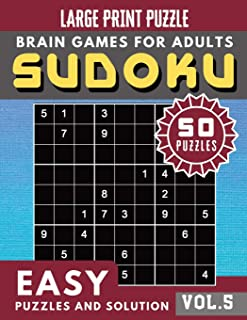 SUDOKU Easy: SUDOKU Easy Quiz Books for Senior, mom, dad and your kids Large Print (Sudoku Brain Games Puzzles Book Large ...