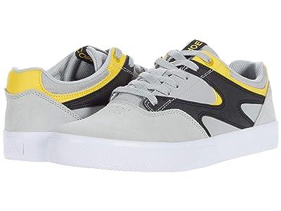 DC Kalis Vulc (Grey/Black/Yellow) Men