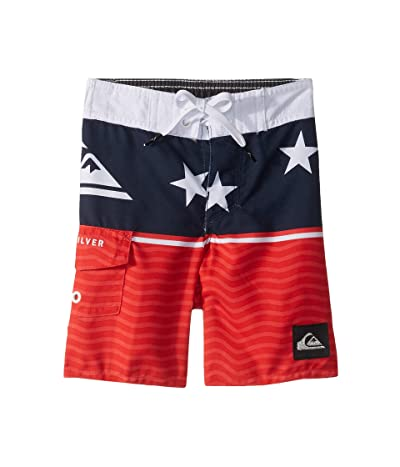Quiksilver Kids Everyday Division Boardshorts (Toddler/Little Kids) (High Risk Red) Boy