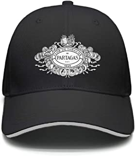 Men Women Adjustable Partagas-Logo- Trucker Dad Baseball Hats Cap